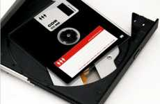 Retro Floppy Disk CD-R