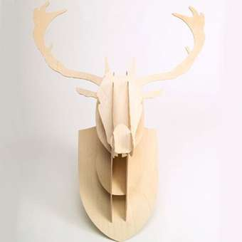 Wooden Taxidermy - Vlaemsch Plywood Trophies
