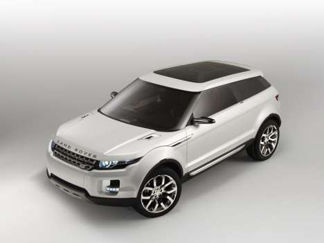 Land Rover LRX Concept - First Photos Reveal Most Eco-Friendly Car to Date