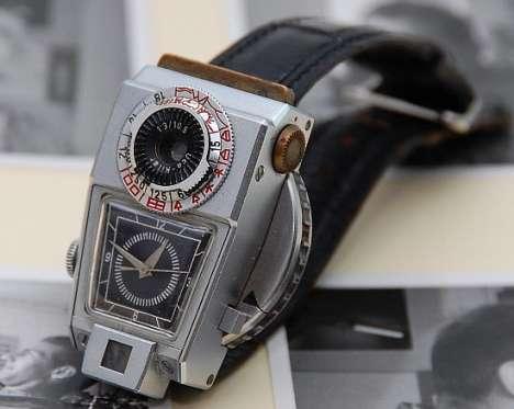 $60,000 Retro Camera Watch