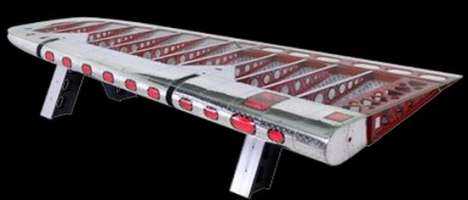 Airplane Wing Table - DC-4 Conference Table by Motoart
