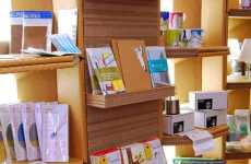 Cardboard Shelving - Eco-Friendly Magma UK Bookstore