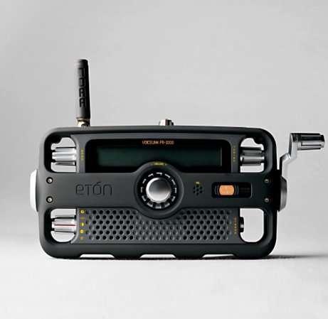 Emergency Hand Crank Radio Phone Flashlight Siren