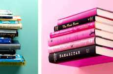 Top 10 Novel Ideas Invisible Floating Bookshelf