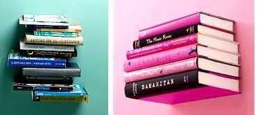 Top 10 Novel Ideas + Invisible Floating Bookshelf