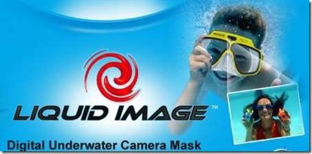 Diving Mask Takes Hands-Free Photos - Liquid Image Camera-Mask