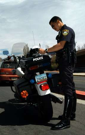 Fingerprinting at Traffic Stops - Cops Violating Privacy?