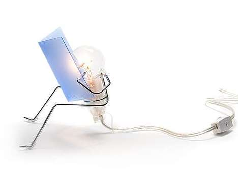 Glowing Originality Light - Innovative Wire Man Desk Lamp