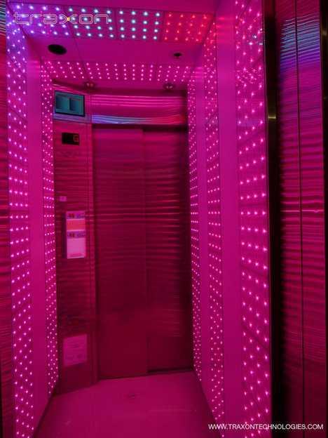 Color Changing Elevator