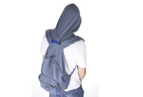 Hooded Backpack -  Eleonore de Ruuk's Hoodification