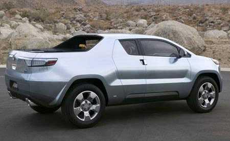 Toyota Hybrid Pick-Up Truck