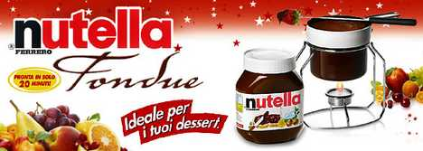 Nutella Unveals Chocolate Fondue