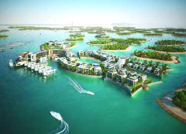 Dubai Builds Fashion Island