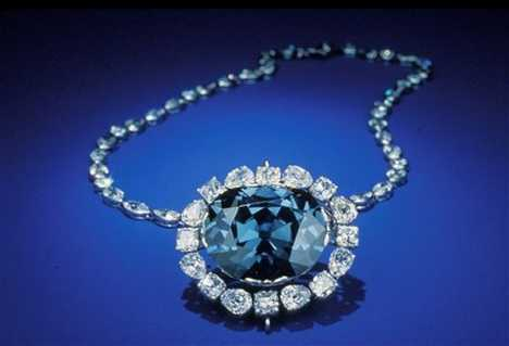 Hope Diamond Is Red Under UV Light