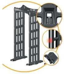 Personal Fold-Up Metal Detector
