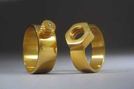 Wedding Bands for Gearheads - The Nuts and Bolts of Love