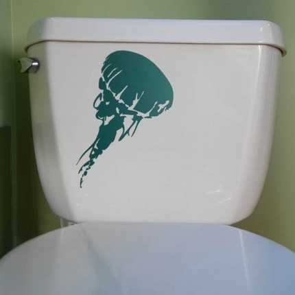 Vinyl Decals Let You Flush with Creativity