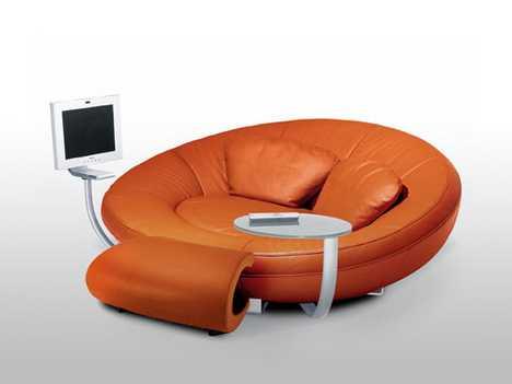 Oval Entertainment Sofas