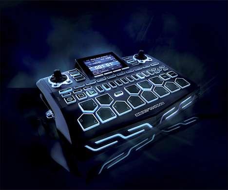 Portable Luminous Rhythm Makers