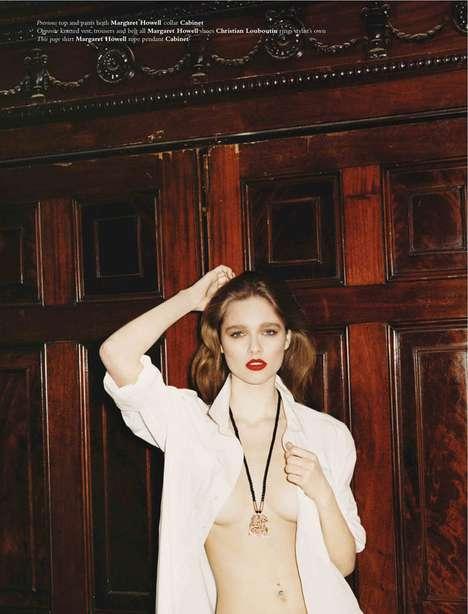 Seductive Lipstick Editorials