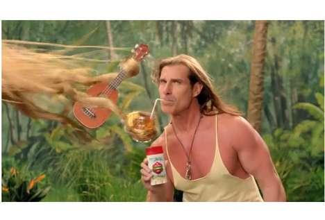 Exotic Deoderant Ads