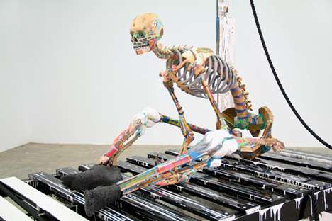 Marooned Corpse Sculptures