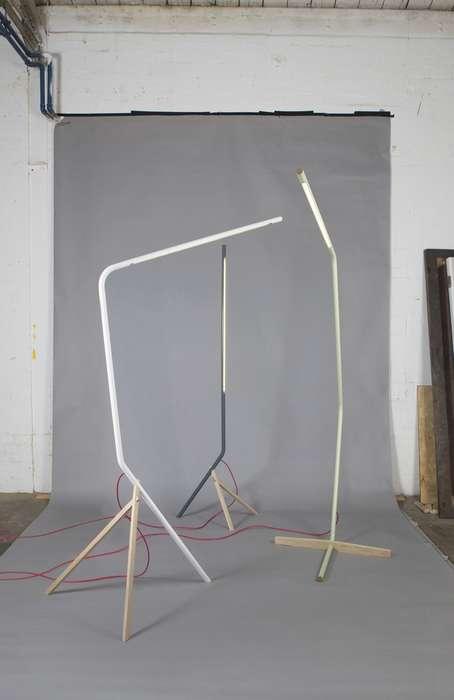 Fluid Sculptural Lamps