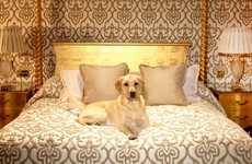 Dog-Loving Travel Agencies - Chien Bleu Arranges Luxury Accomodations for People and Pooches