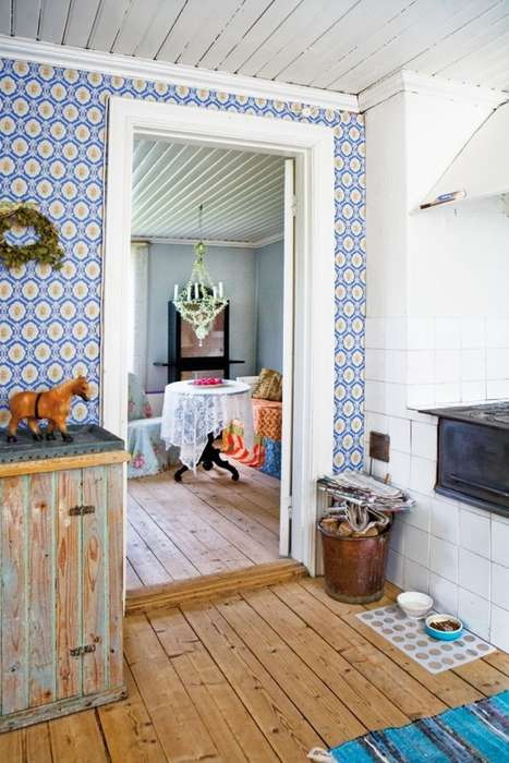Romantically Rustic Abodes