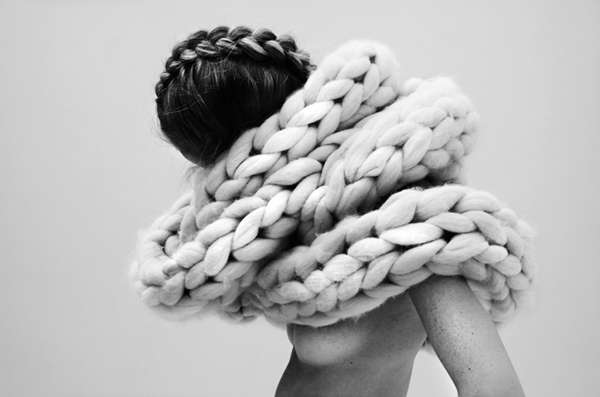 Exaggerated Crochet Ensembles