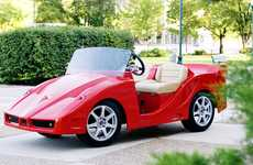 Luxury Car Golf Carts