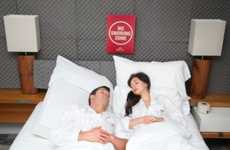 Superb Sound Sleep Initiatives - The Snore Absorption Room Aims to Offer a Better Night's Sleep