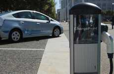 Extensive Recharging Stations - The ChargePoint Network Expands Across America