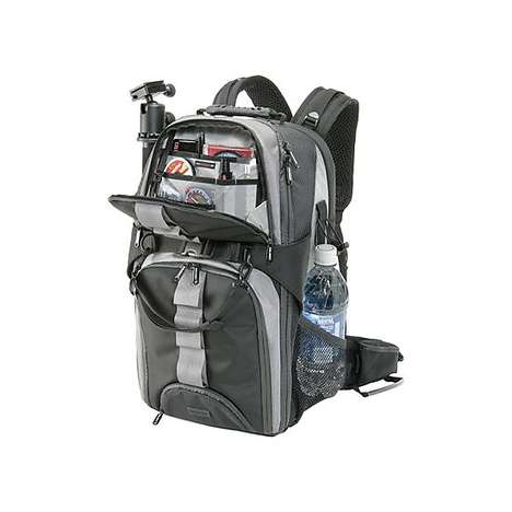 Multi-Compartmented Camera Packs