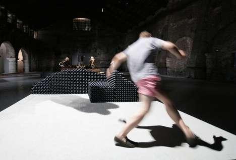 Shape-Shifting Robotic Art