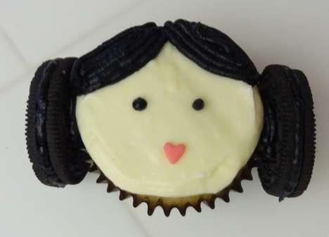 Cosmic Princess Cupcakes