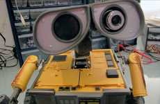 Sensational Cinematic Robots - Real Life Wall-E is the Battery Powered Version of the Pixar Classic