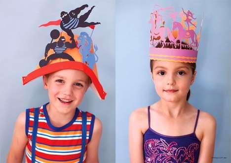 Chimerical Cardboard Crowns