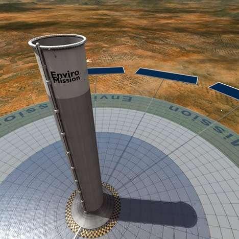 Colossal Solar Columns