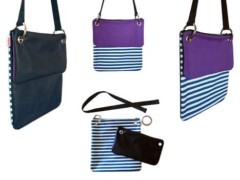 Modern Modular Purses - Arianna Vivenzio's Ochobags Provide Customizable Handbags