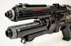 Vicious Videogame Rifles - Harrison Krix Recreates the N7 Rifle from 'Mass Effect 3'