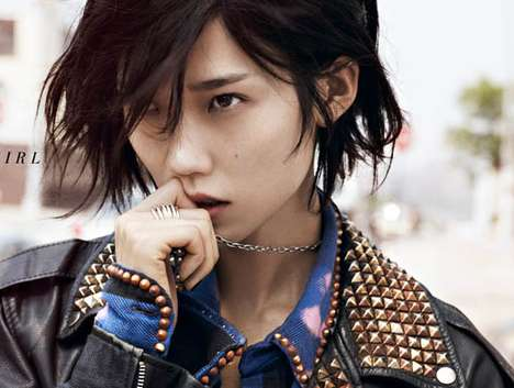 This Tao Okamoto Vogue China August 2011 Spread Shows a 'Handsome Girl'