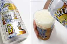 Chilled Brewskis - Beverage Manufacturer Kirin Introduces 'Ice Plus Beer'