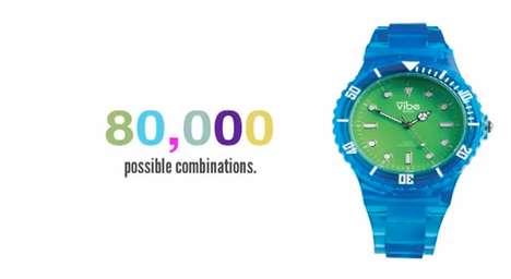 Kaleidoscopic Timepieces