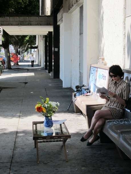 Public Waiting Rooms - The Julie Kim LA Bus Stop Coffee Table Experiment