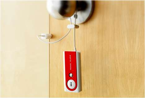 Portable Hotel Alert Systems - The Travel Door Alarm Keeps You Safe on Trips