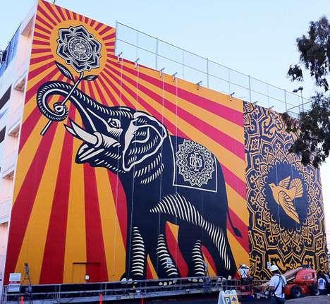 West Coast Elephant Silhouettes