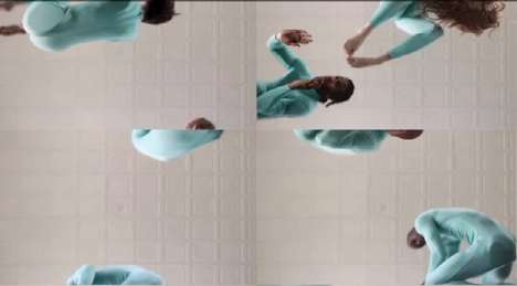 Kaleidoscopic Dance Videos - Band OK Go and Google Team Up for an Interactive Music Video