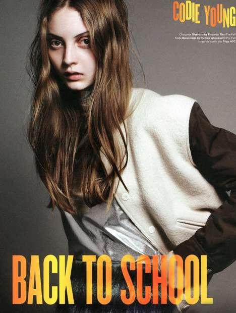 Chic Back-to-School Editorials