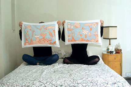 Artistic Linens - Company Third Drawer Down has Pillowcases that are Works of Art